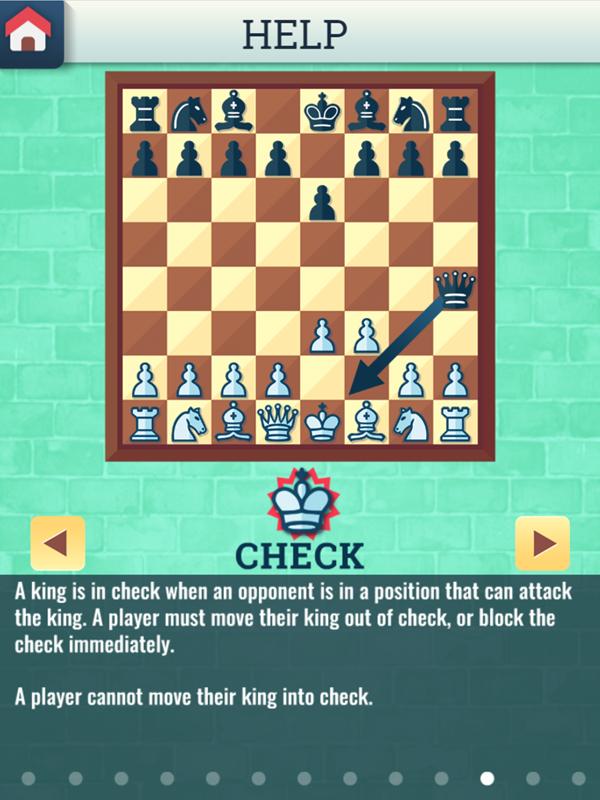 Chess Grandmaster Check Instructions Screenshot.