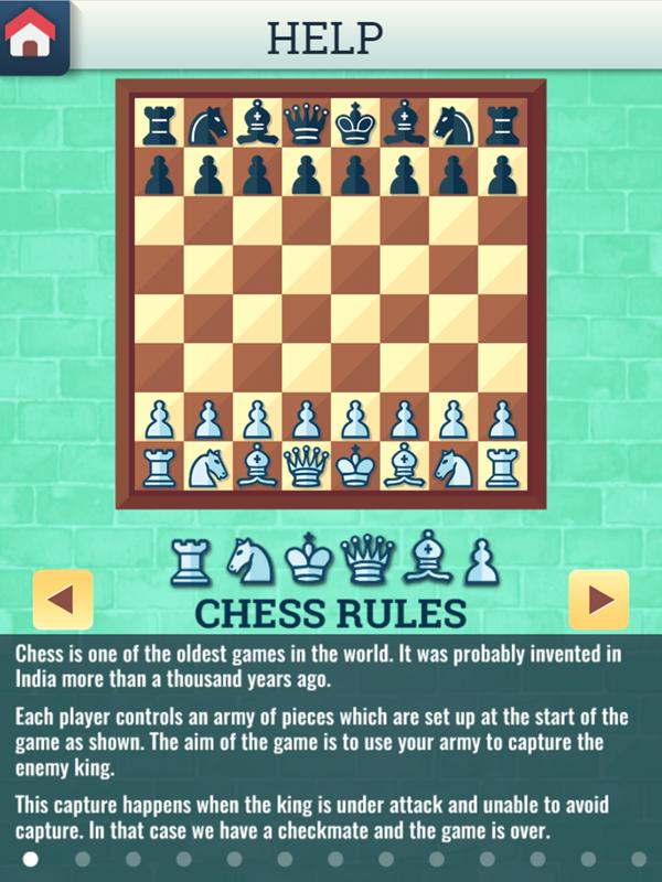 Chess Grandmaster Chess Rules Screenshot.