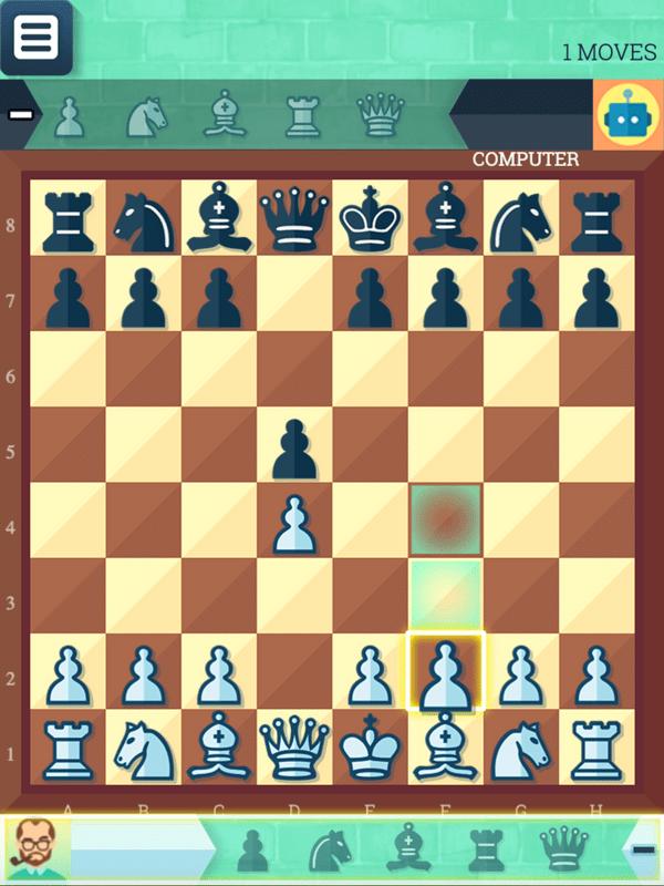 Chess Grandmaster Game Screenshot.