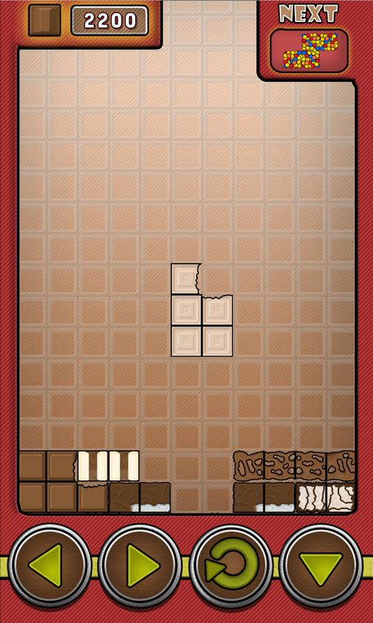 Choco Blocks Game Screenshot.