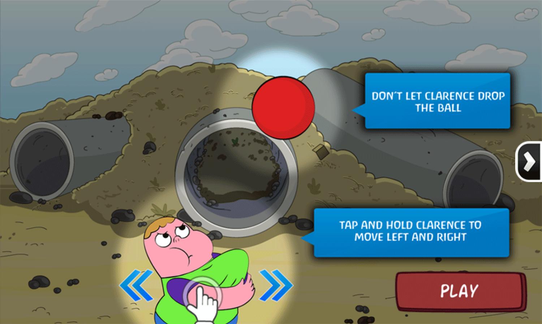 Clarence Arm Shirt Juggle Game How To Play Screenshot.