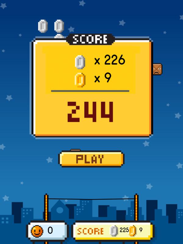 Coin Game Score Screenshot.