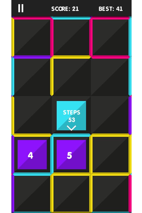 Color Maze Game Screenshot.