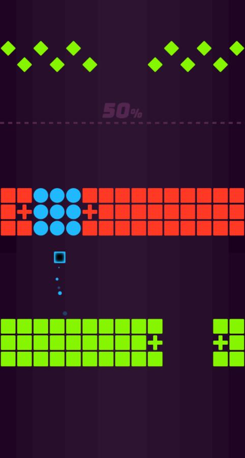 Color Pump Game Play Screenshot.