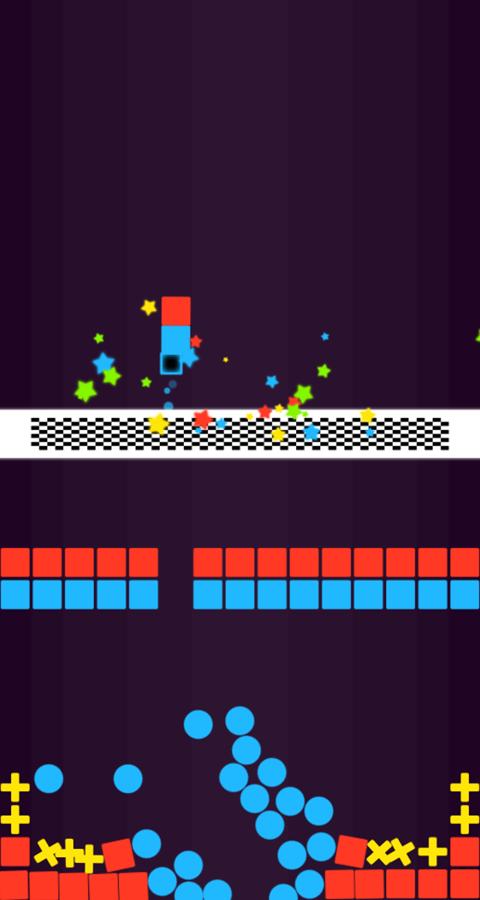 Color Pump Game Level Complete Screenshot.