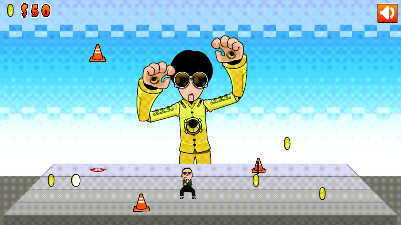 Dance Extreme Game Screenshot.