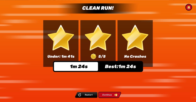 Danger Mouse Full Speed Game Clean Ride Screenshot.