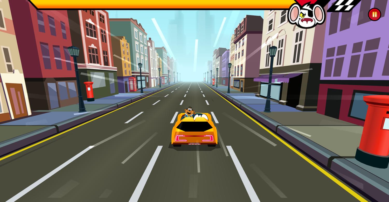 Danger Mouse Full Speed Game Screenshot.