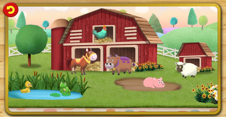 Daniel Tiger's Neighborhood Barnyard Match Game Level Complete Screenshot.