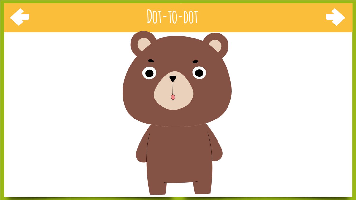 Dot to Dot Animals Game Drawn Screenshot.