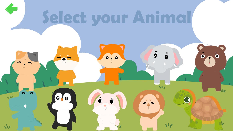 Dot to Dot Animals Selection Screenshot.