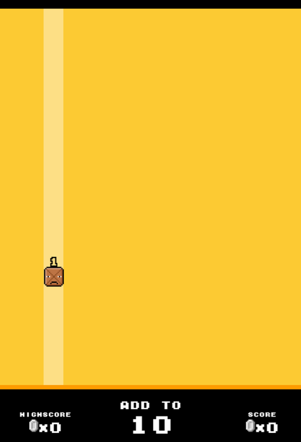 Drop Sum Game Start Screenshot.