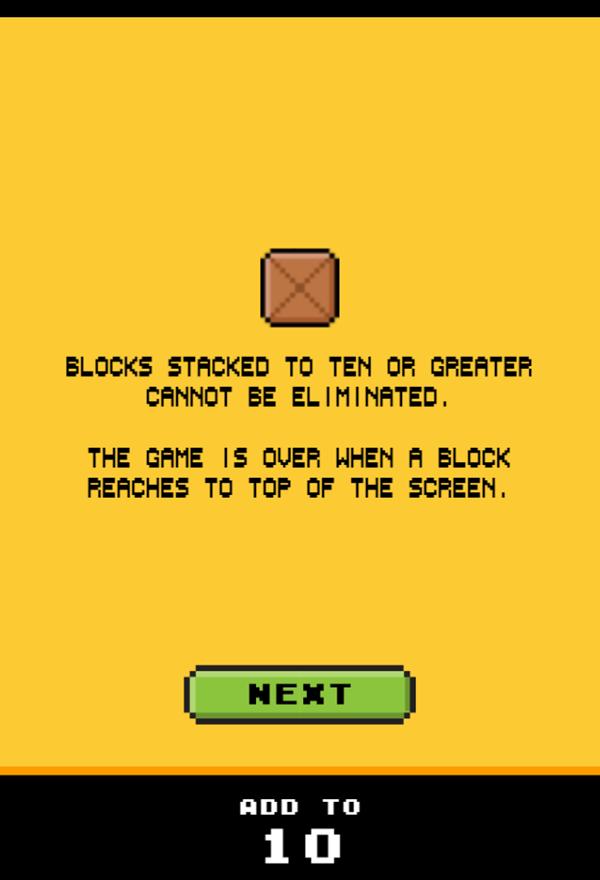 Drop Sum Game Play Tips Screenshot.