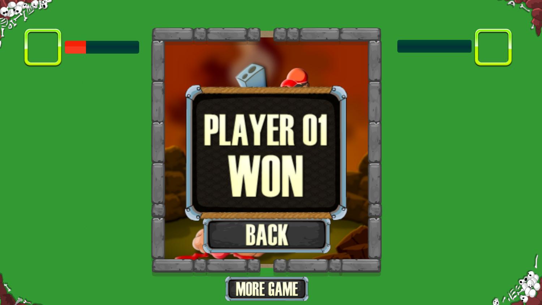 Dual With Death Game Won Screenshot.