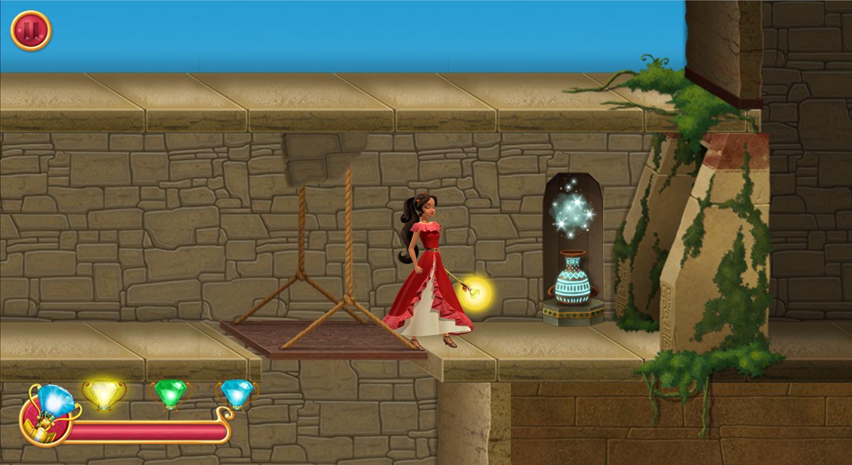Elena of Avalor Adventures in Avalor Magic Maze Game Screenshot.