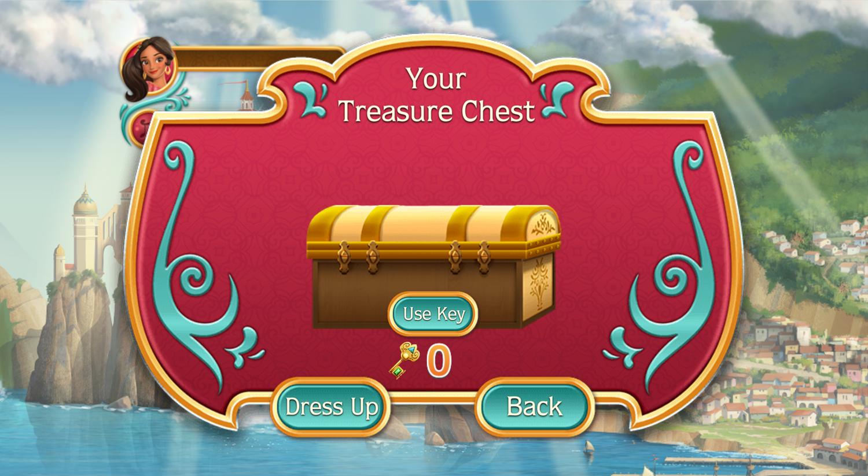 Elena of Avalor Adventures in Avalor Treasure Chest Screenshot.