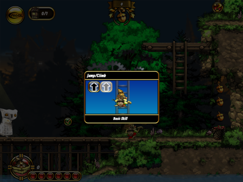 Emberwind Game How To Jump Screenshot.