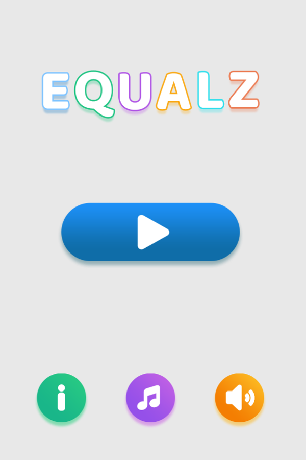 Equalz Welcome Screen Screenshots.
