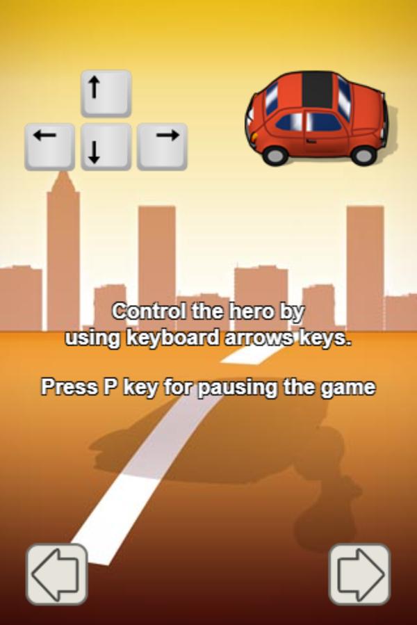 Escape the Fuzz Controls Screenshot.
