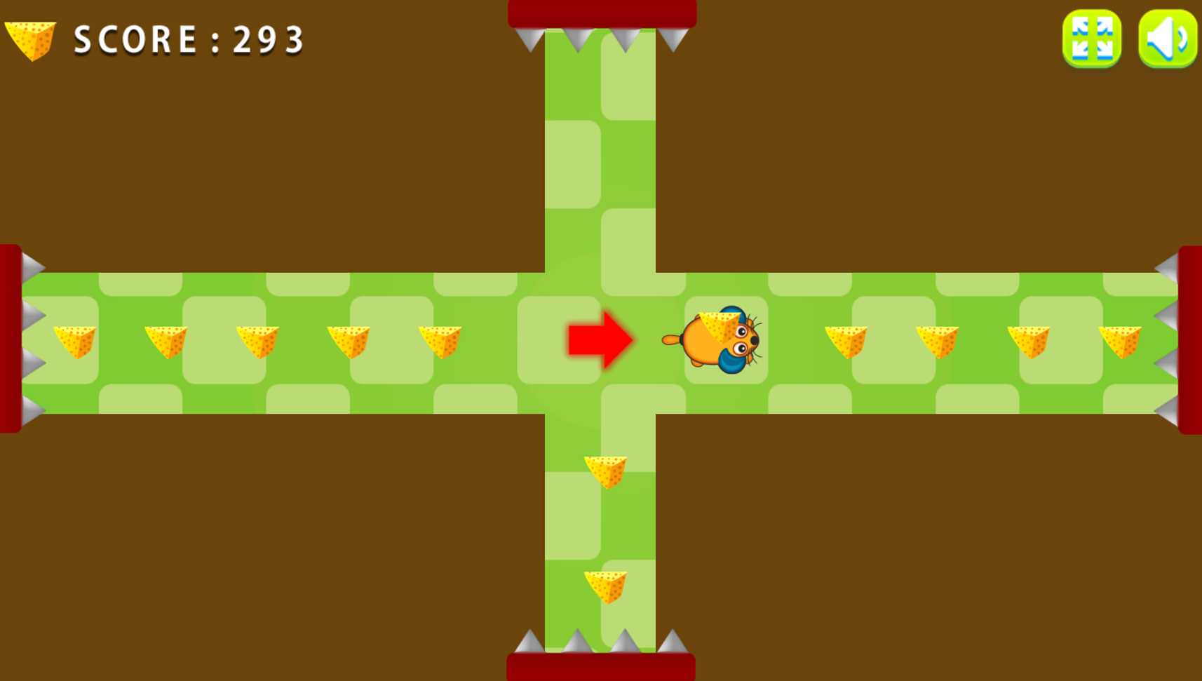 Extreme Labyrinth Level Select Screenshot.