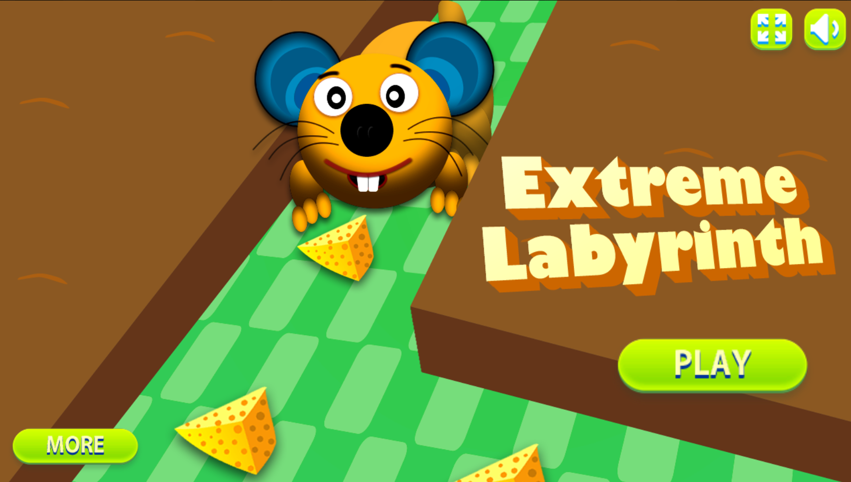 Extreme Labyrinth Game Welcome Screen Screenshot.