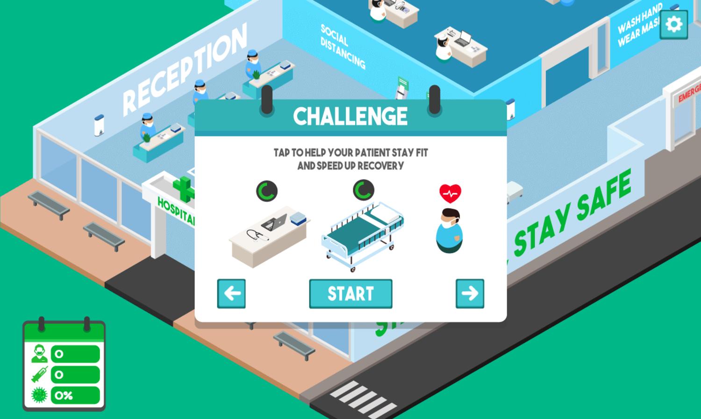 Fight Virus Game Screenshot.