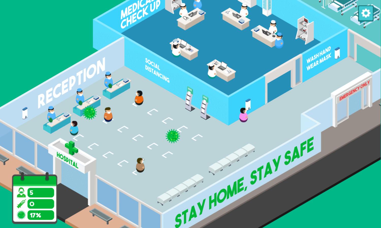 Fight Virus Gameplay Screenshot.