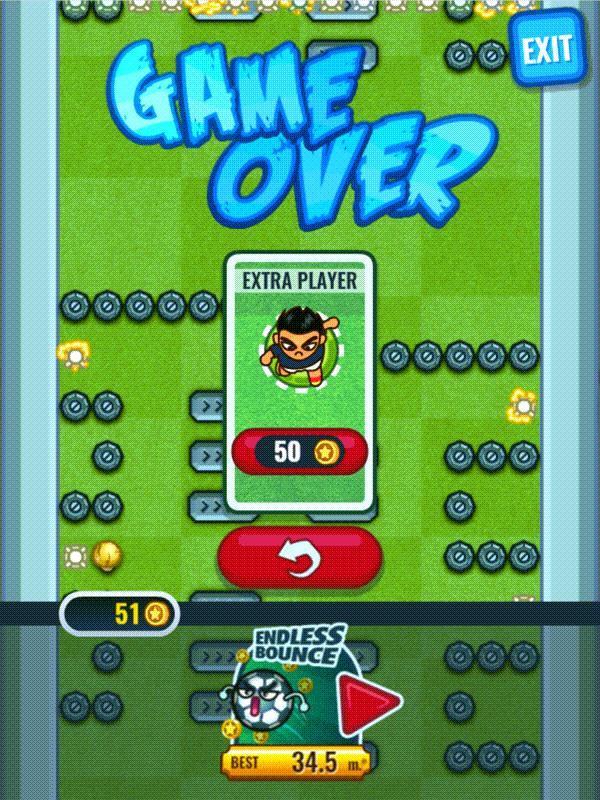 Flappy Foot Chinko Extra Player Screenshot.