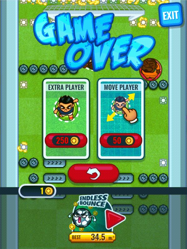 Flappy Foot Chinko Move Player Screenshot.