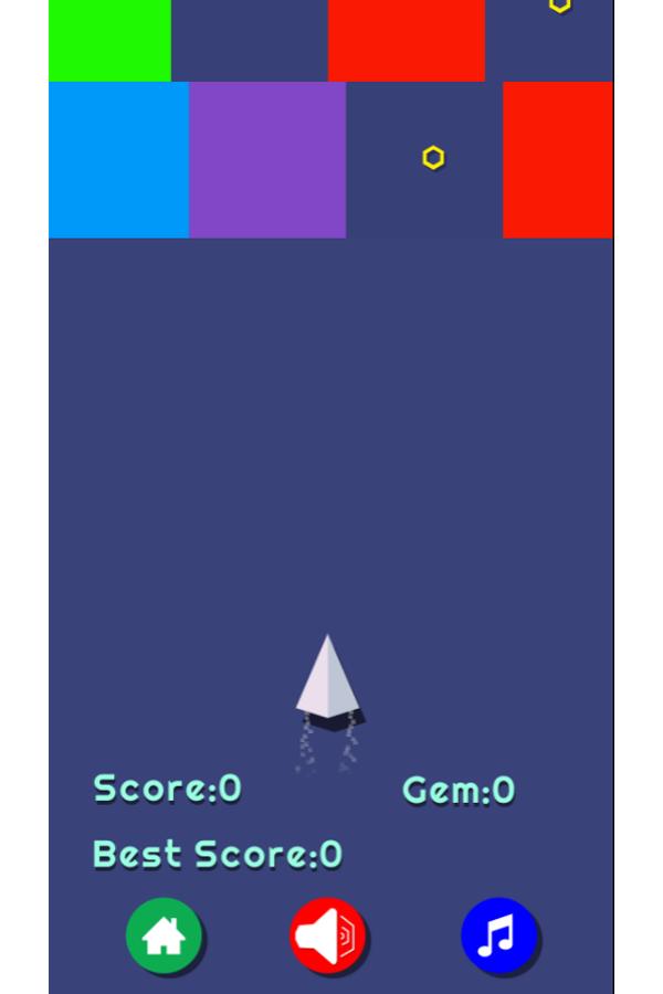 Flight Color Game Screenshot.