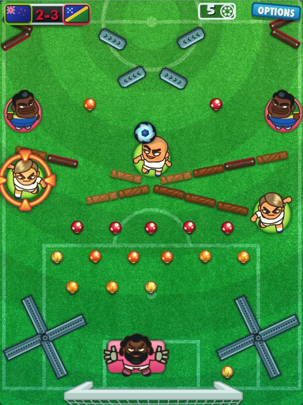 Foot Chinko Game Screenshot.