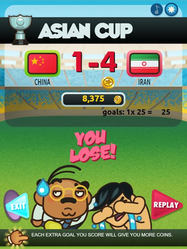 Foot Chinko You Lose Won Screenshot.