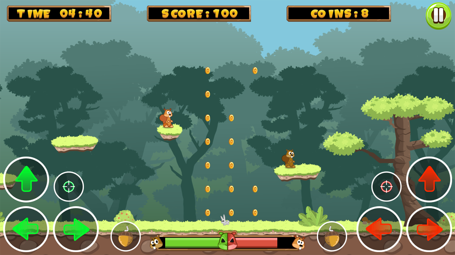 Forest Brothers Game Screenshot.