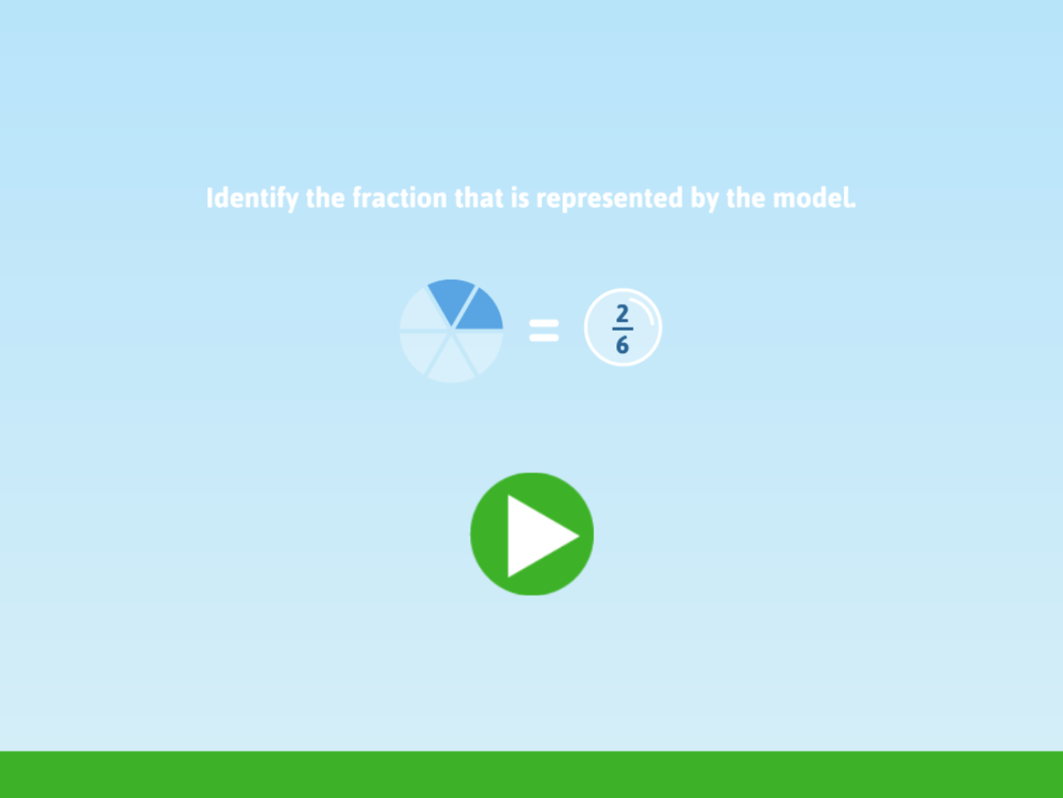 Fraction Fling Game How To Play Screenshot.