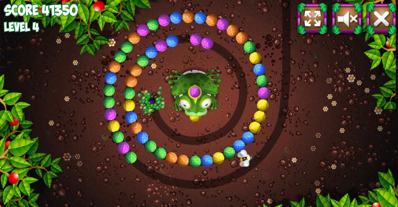Frogtastic Game Screenshot.