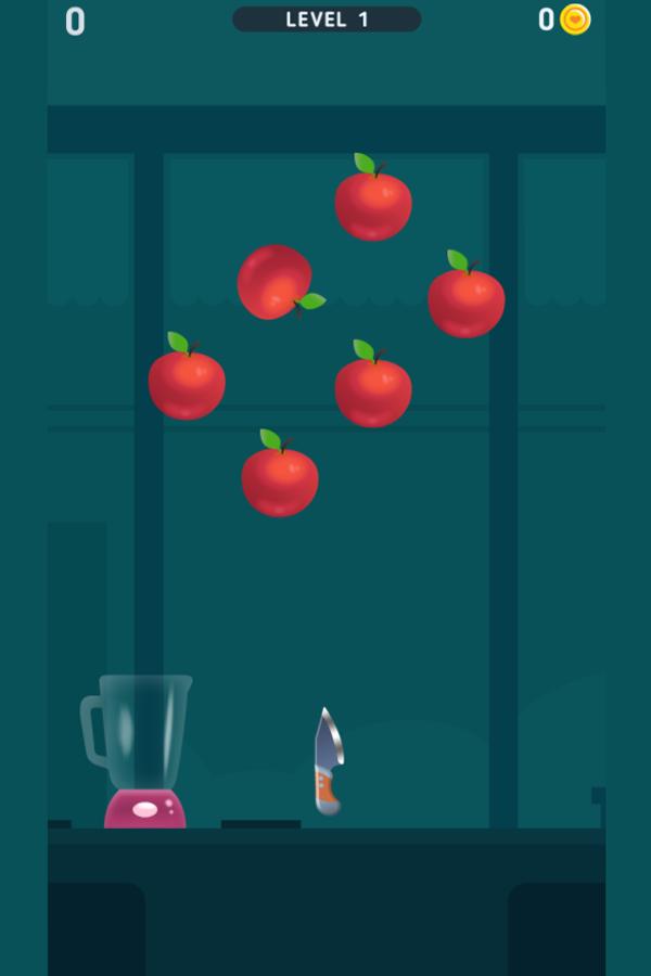 Fruit Master Game Screenshot.