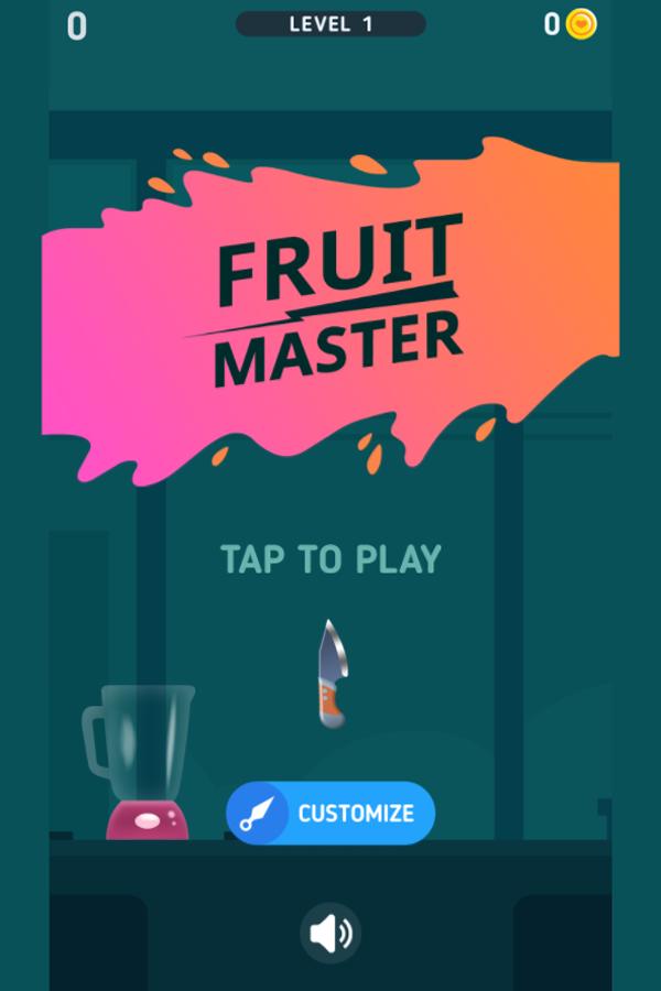 Fruit Master Welcome Screenshot.