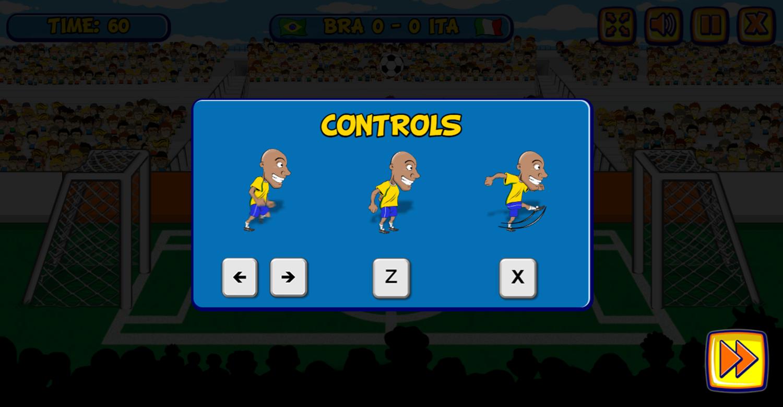 Funny Soccer Instructions Screenshot.