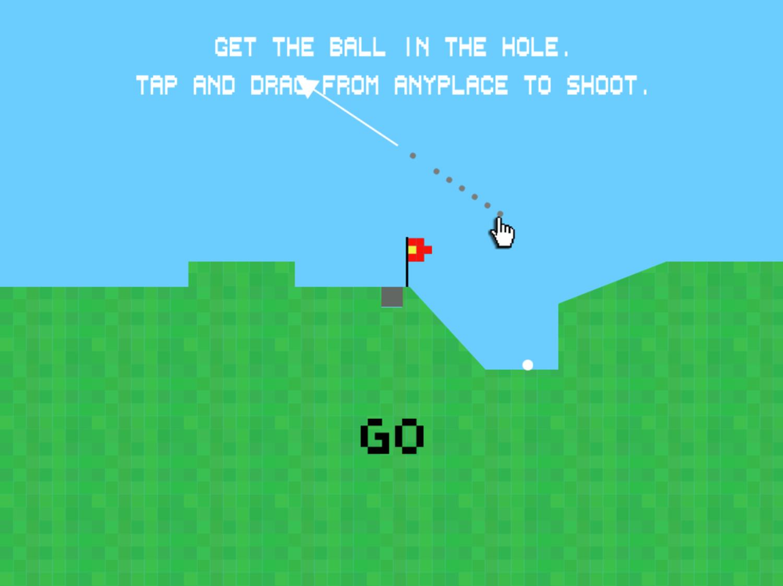 Golf Instructions Screenshot.