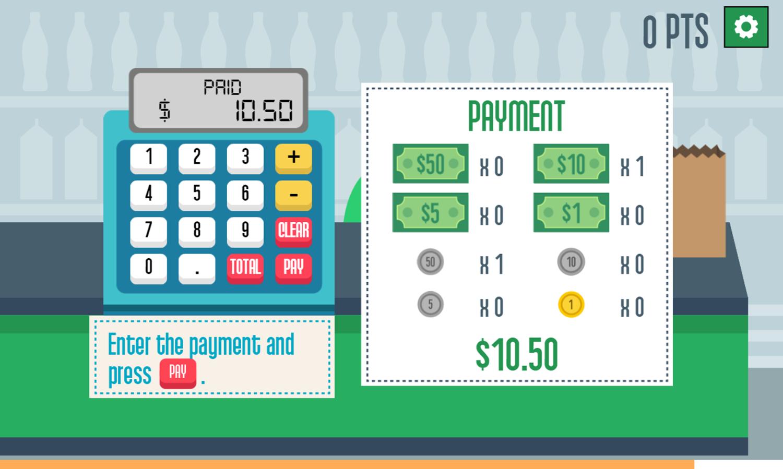 Grocerie Cashier Payment Screenshots.