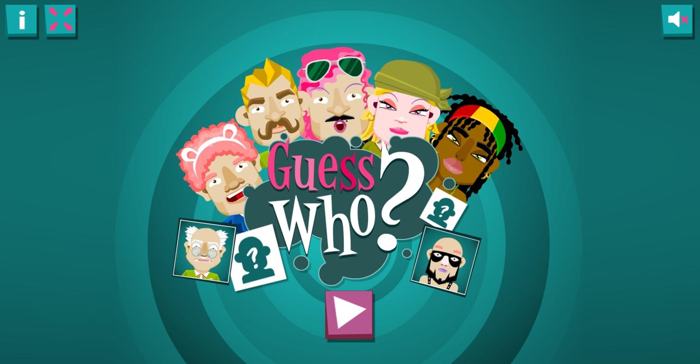 Guess Who Game Screenshot.