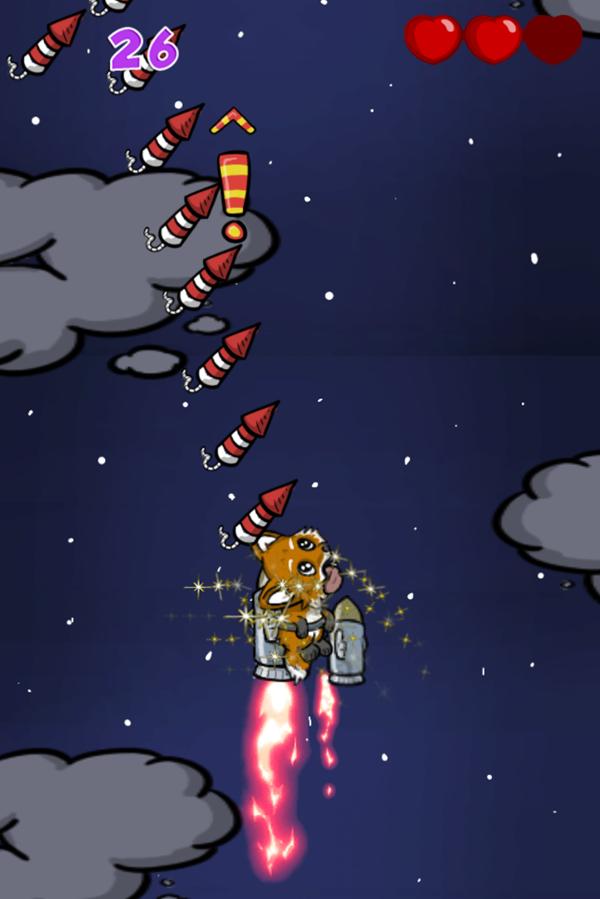 Guy Fox Game Play Screenshot.