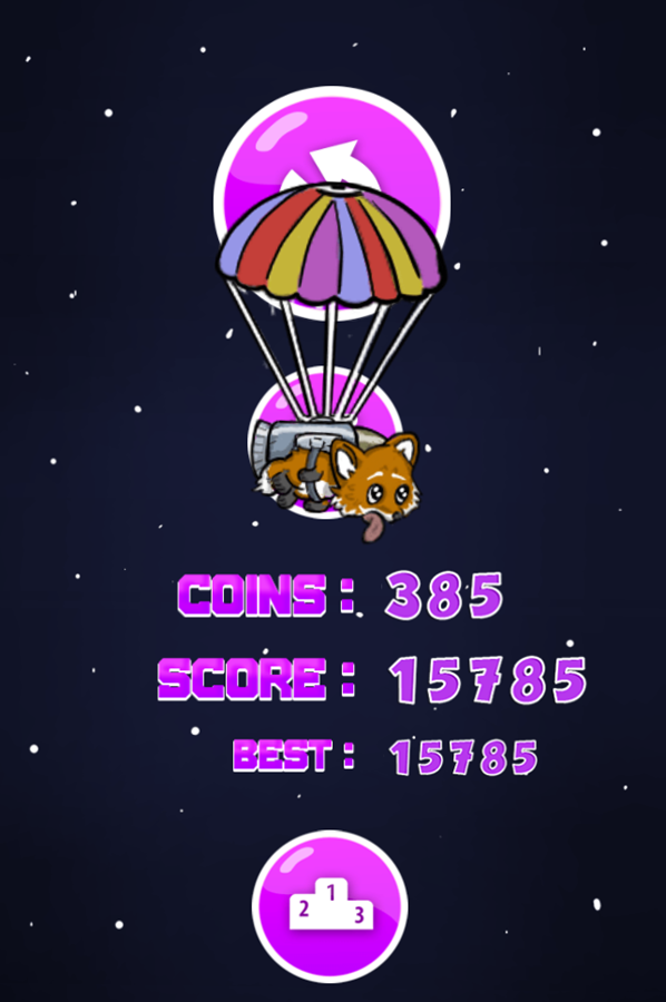 Guy Fox Game Score Screenshot.