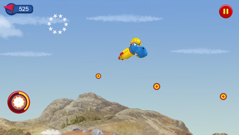 The Happos Family Stunt Happo Game Play Screenshot.