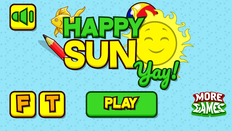 Happy Sun Welcome Screen Screenshots.