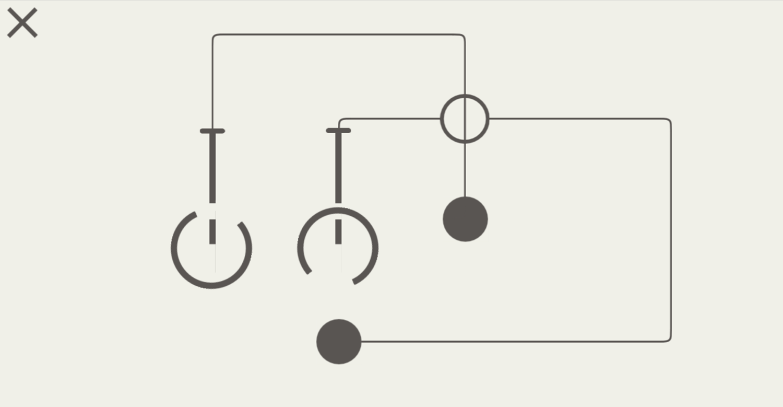Hook Game Circles Level Screenshot.