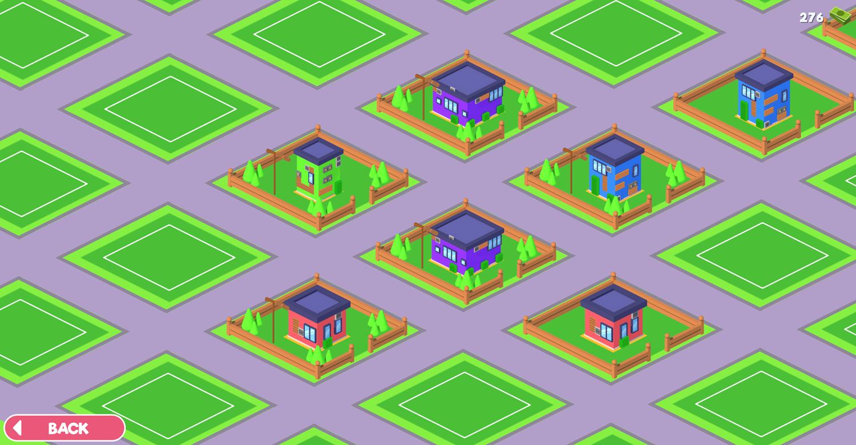 House Painter City Screen Screenshot.