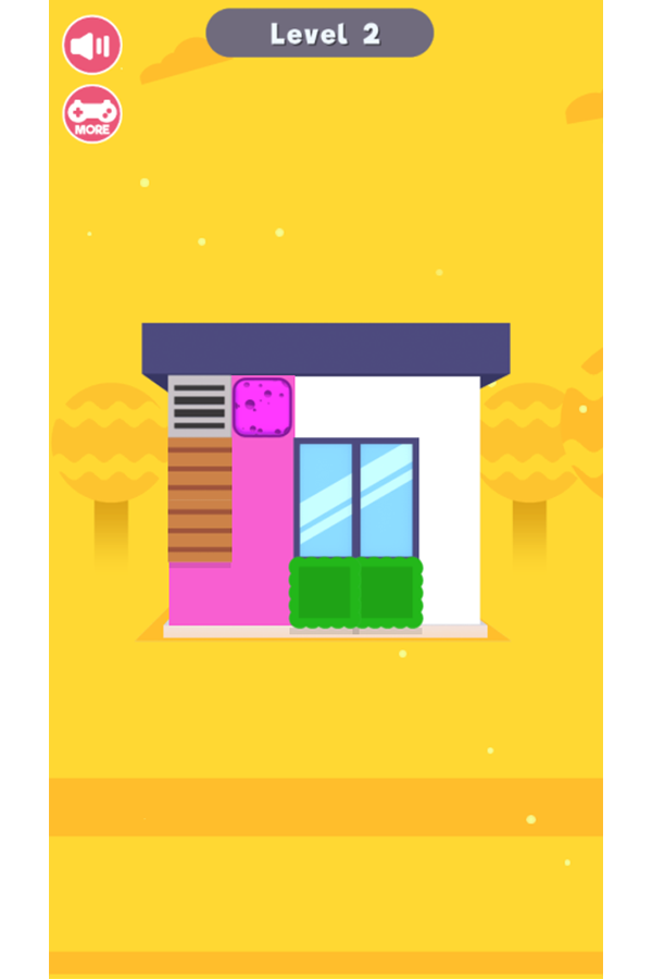 House Painter Game Screenshot.