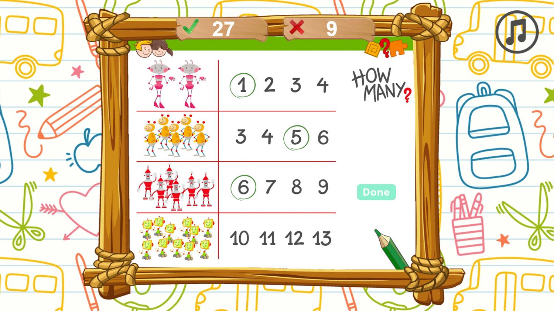 Math Battle Game Screenshots.