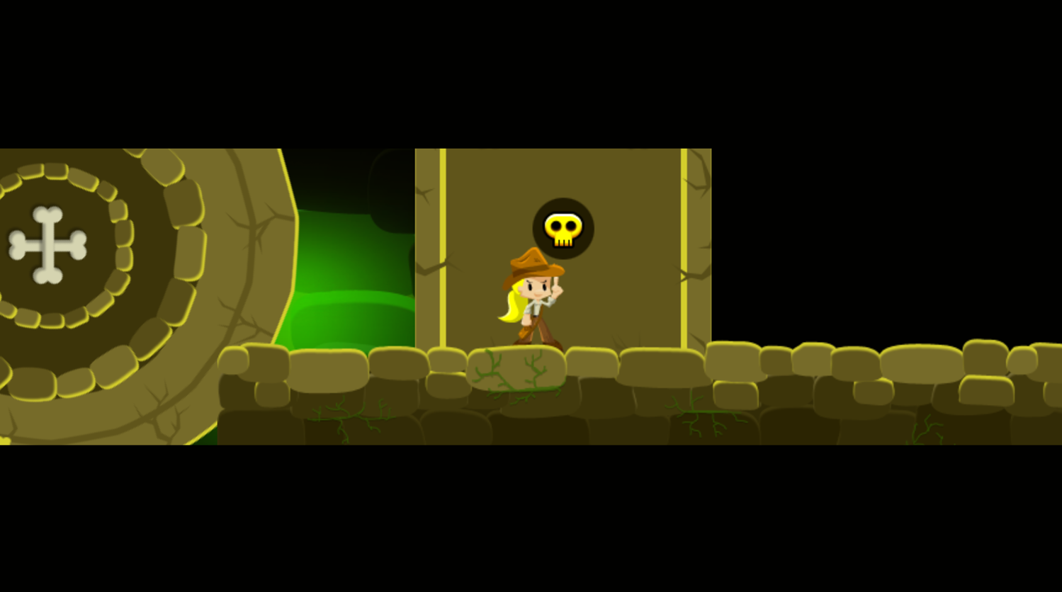 Indiara and the Skull Gold Level End Screenshot.